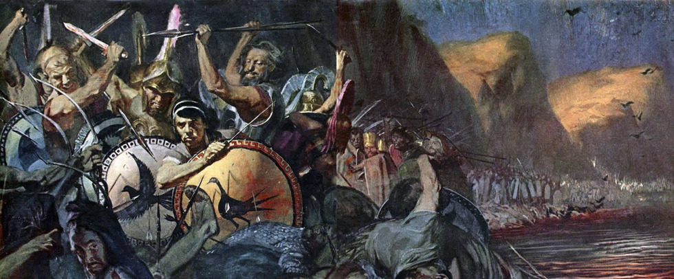 the battle of thermopylae It is a battlefield made famous by the spartans of hit film 300 - but a newly discovered fragment of parchment has revealed another massive battle in the famous pass of thermopylae.