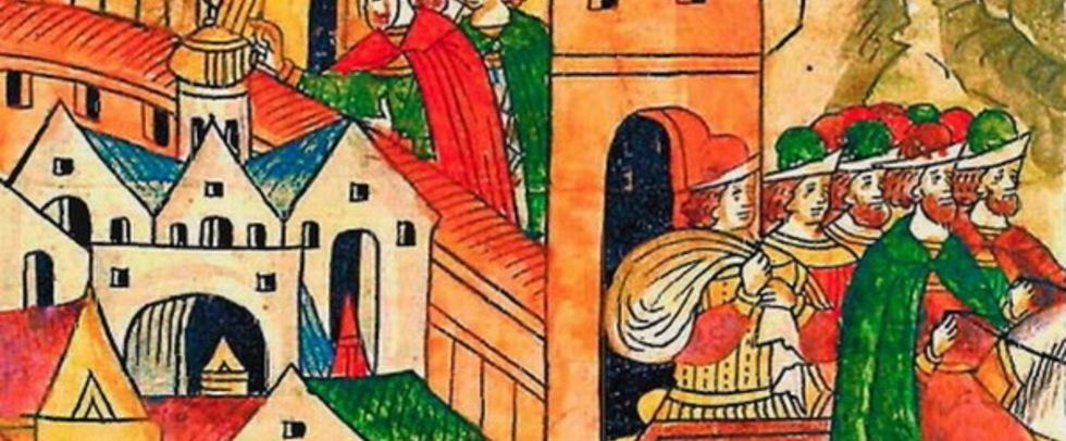 Картинки по запросу В знаменитом отчёте Ричарда Ченслера о путешествии в варварскую Московию в 1550-х годах есть любопытный пассаж:... Картинки