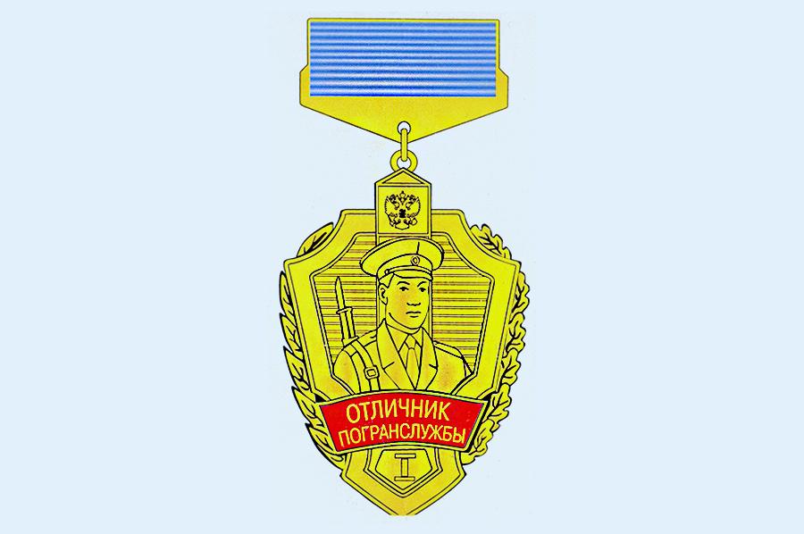 награждение нагрудным знаком за службу на кавказе