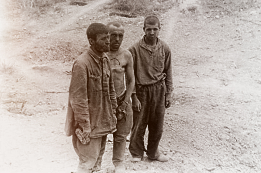 Последние защитники батареи №365, 13 июня 1942 года Источник — novoross.info - 365-я зенитная батарея. Часть II | Военно-исторический портал Warspot.ru