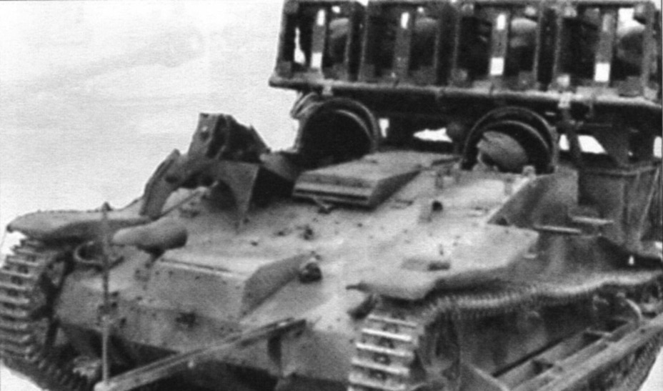 renault ue(f) - самоходная артиллерийская установка,