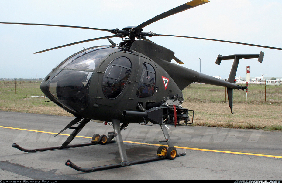 ​Вертолёт MD 530F http://www.airliners.net/photo/Mexico---Air/McDonnell-Douglas-MD-530F/1571675/L/ - США заказали двенадцать вертолётов MD 530F для ВВС Афганистана  | Военно-исторический портал Warspot.ru