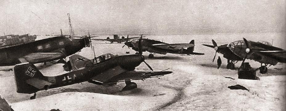 Самолёты Ju-52/3m, Ju-87 и He-111P/H, захваченные корпусом Баданова Источник – aviadejavu.ru - Рейд генерала Баданова | Военно-исторический портал Warspot.ru