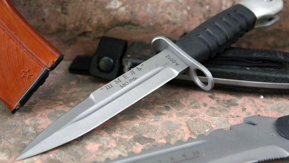Армейский штык нож для ак нож фирмы cold steel