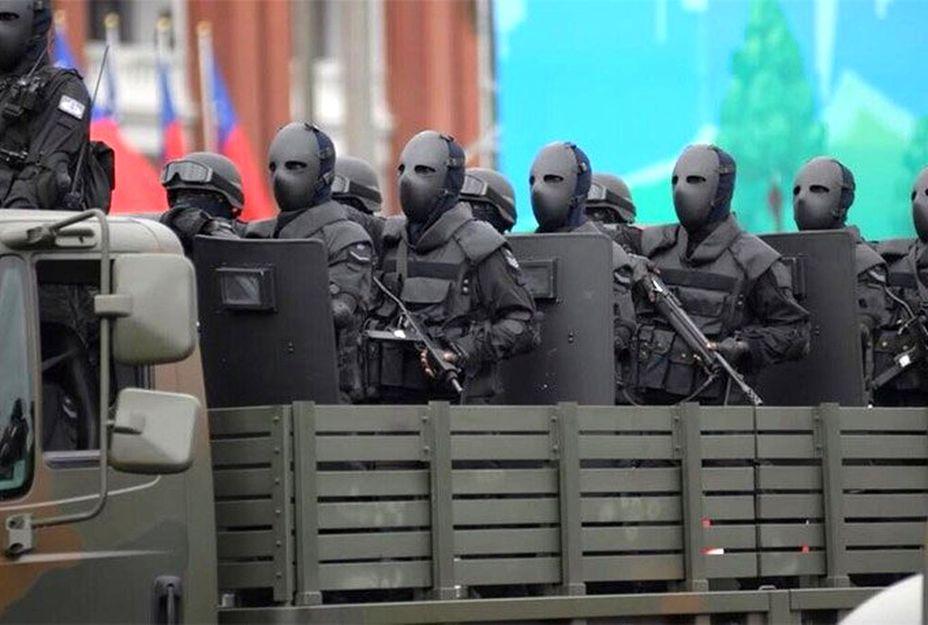 Спецподразделения разных стран используют защитную амуницию различного типа. На фото - отряд Taiwan Special Forces (Тайвань) taringa.net - Маски цвета хаки | Военно-исторический портал Warspot.ru