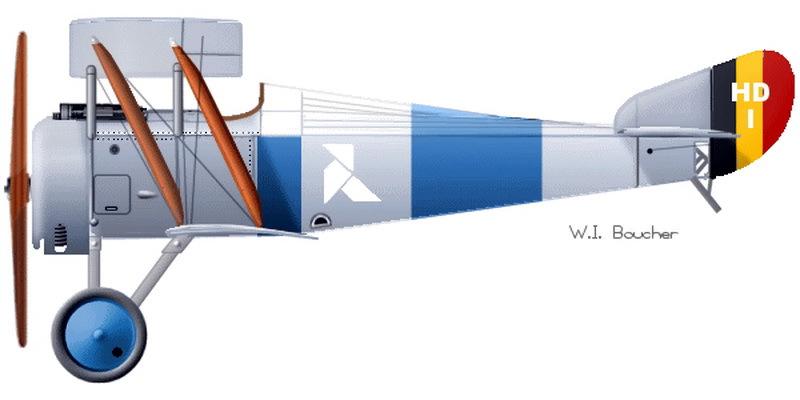 «Анрио» с хвостовым номером HD1 по состоянию на осень 1917 г. (http://www.wwiaviation.com)