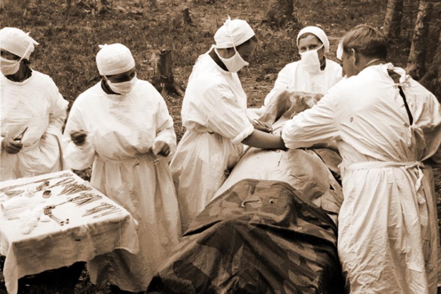 полевой госпиталь времен вов картинки пока еще умеете