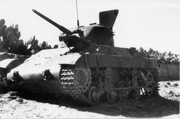 Египетский танк M22 Locust Источник: aviarmor.net - Война за независимость Израиля: Схватка с Египтом | Военно-исторический портал Warspot.ru