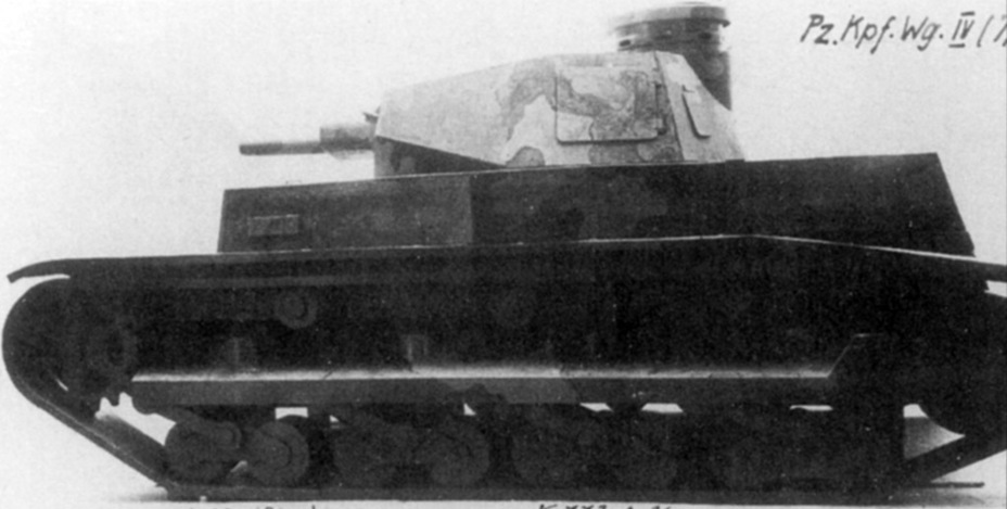 ​Wooden model of the Rheinmetall B.W. This is how the tank was supposed to enter production - Begleitwagen: A Specialist of All Trades | Warspot.ru