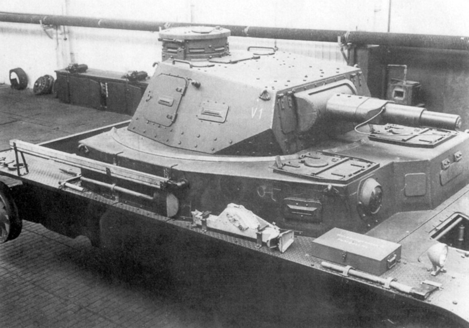 ​Externally, the first B.W. looks very similar to the PzIV Ausf. A. The similarity is misleading. The tank underwent significant changes, both on the inside and the outside, before it entered production - Begleitwagen: A Specialist of All Trades | Warspot.ru