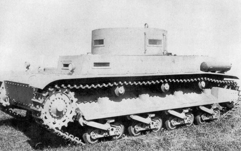 ​B.W. experimental chassis, summer of 1938. The spaced armour covering the idler and the muffler on the fender are visible - Begleitwagen: A Specialist of All Trades | Warspot.ru