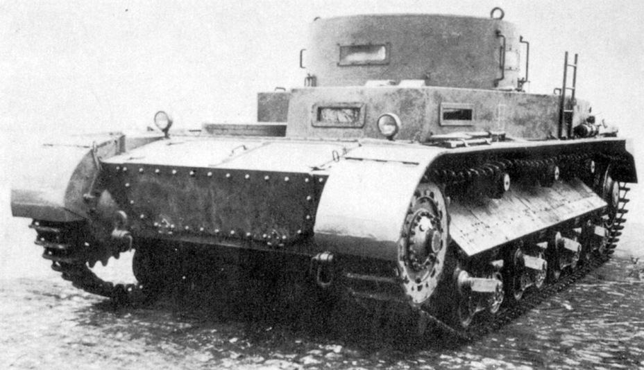 ​The front of the improved Begleitwagen. The large transmission access hatches are visible. This solution made the transmission easier to service, but was not the greatest for shell resistance - Begleitwagen: A Specialist of All Trades | Warspot.ru