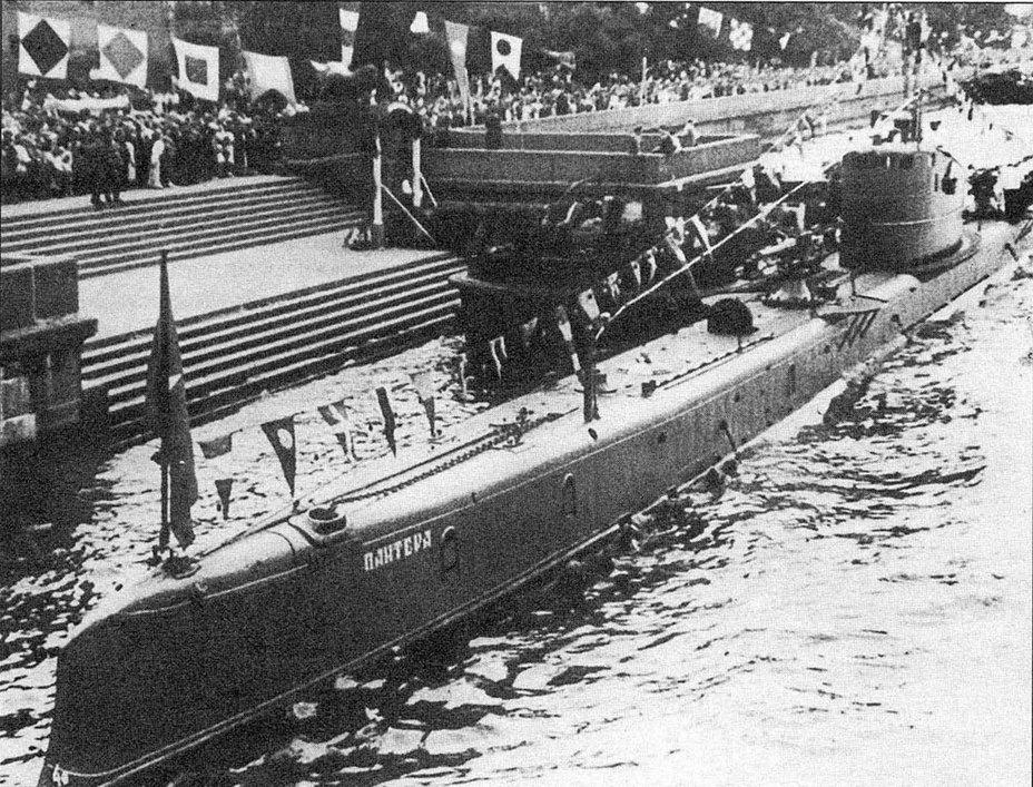 Подводная лодка «Пантера» - Прыжок «Пантеры» | Военно-исторический портал Warspot.ru