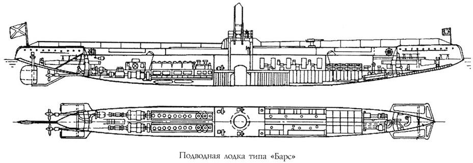 Схема ПЛ типа «Барс» - Прыжок «Пантеры» | Военно-исторический портал Warspot.ru