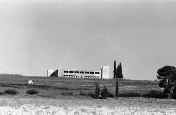 Фотография полицейского форта в Латруне, сделанная в 1967 году Источник: timesofisrael.com - Война за независимость Израиля: «Латрунская мясорубка» | Военно-исторический портал Warspot.ru