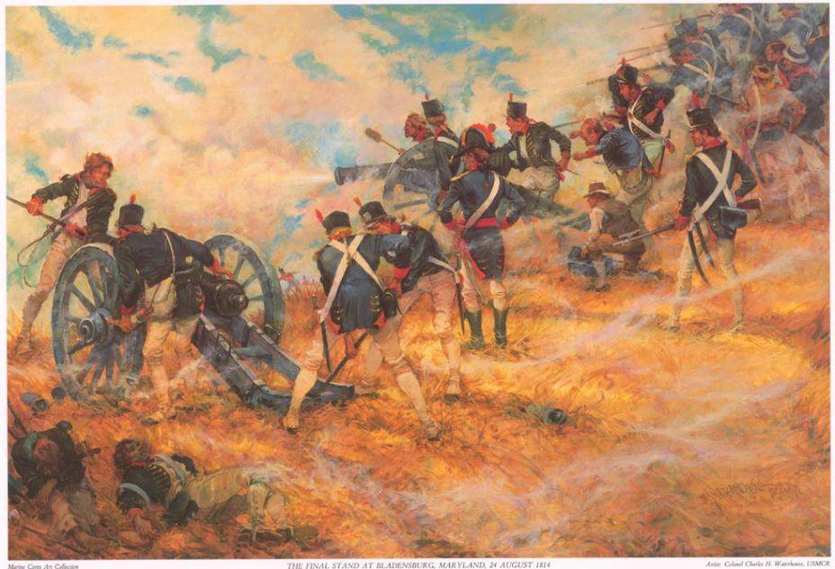 Сражение при Бладенсберге - Взятие Вашингтона | Военно-исторический портал Warspot.ru