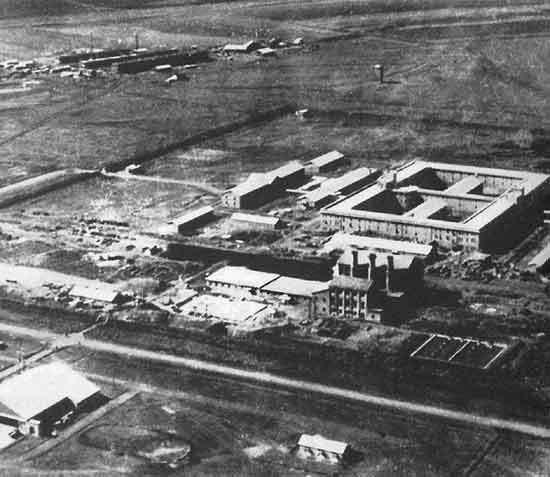 Центральное здание комплекса «отряда 731» supotnitskiy.ru - Отряд 731: лаборатории смерти | Военно-исторический портал Warspot.ru