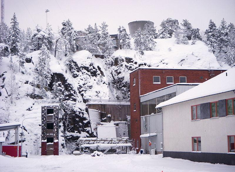 Шведская АЭС «Ågesta» в 2009 году