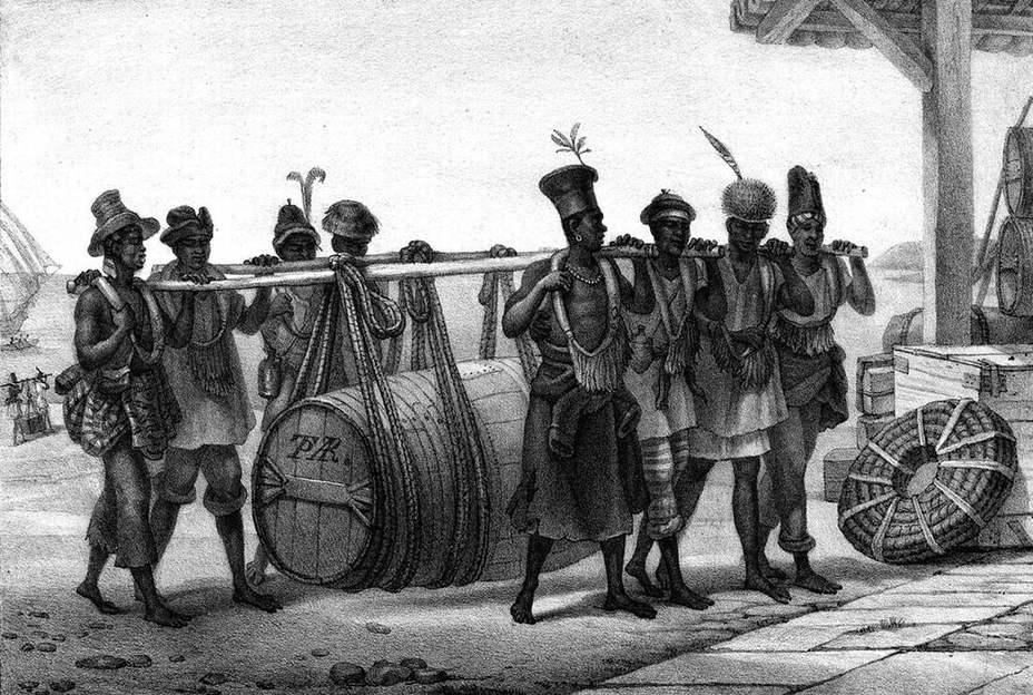 Чем питались британские военные моряки XVIII века флот