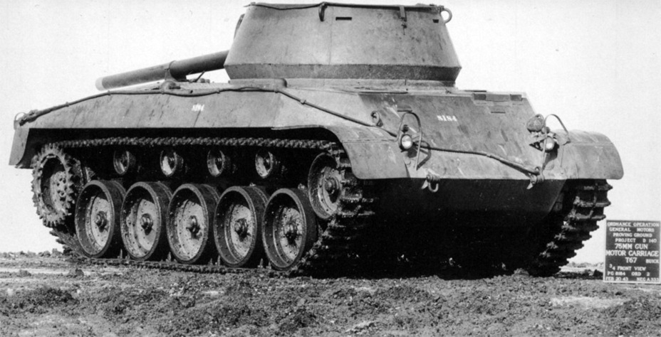 ​76 mm Gun Motor Carriage T67 на Абердинском полигоне - В полушаге от Hellcat | Warspot.ru