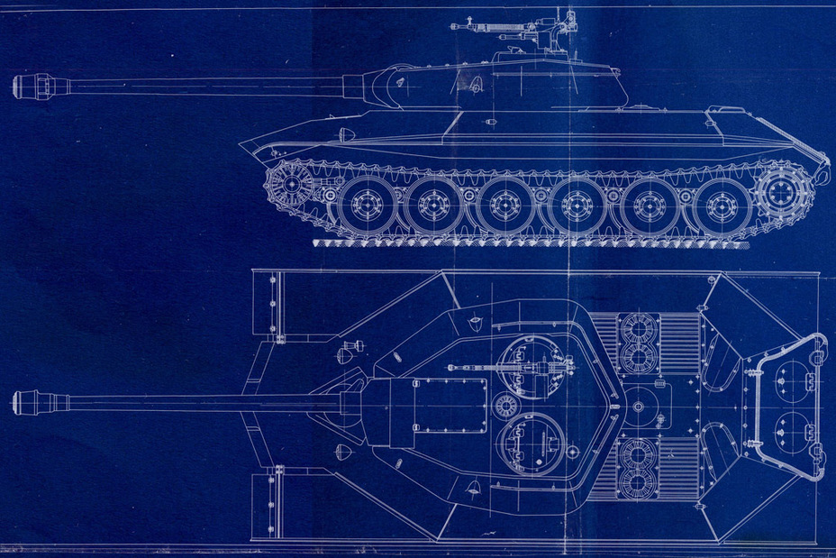 ​Design of the IS-6 (Object 252) with a redesigned hull and turret, dated end of November, 1944. This was the foundation of the future Object 257 - Object 257: The First IS-7 | Warspot.ru