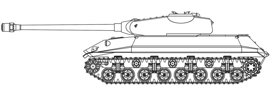 ​A reconstruction of the Object 257 by Vsevolod Martynenko - Object 257: The First IS-7 | Warspot.ru