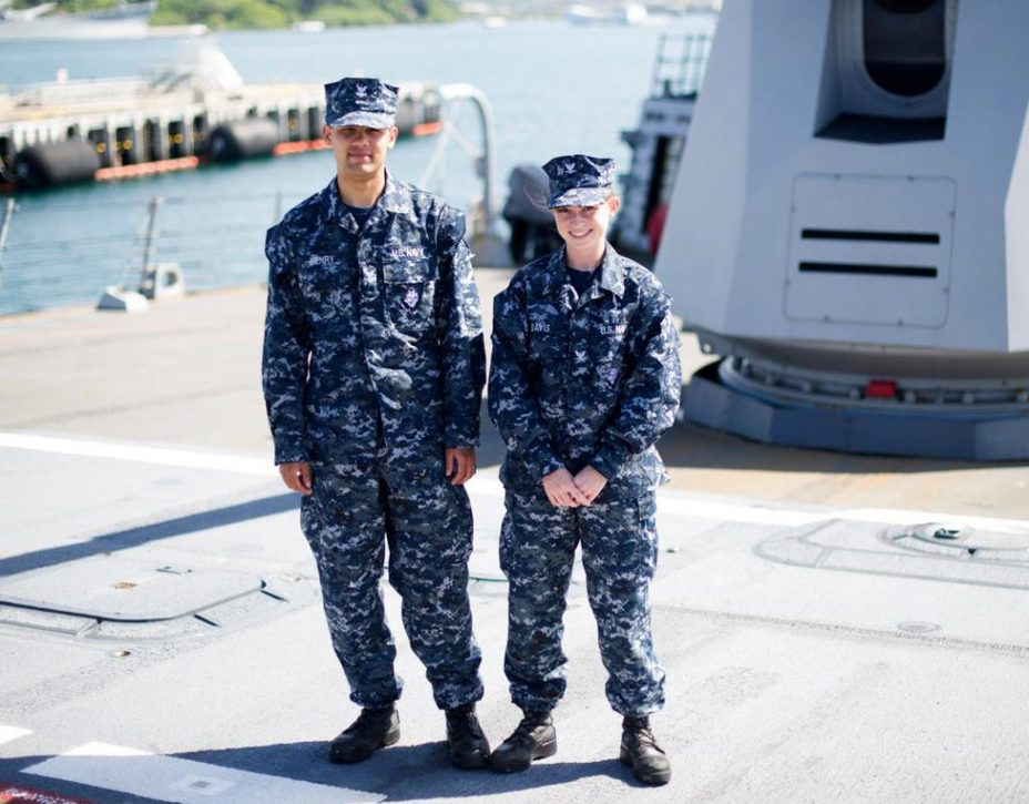 фото военных в морской американской форме