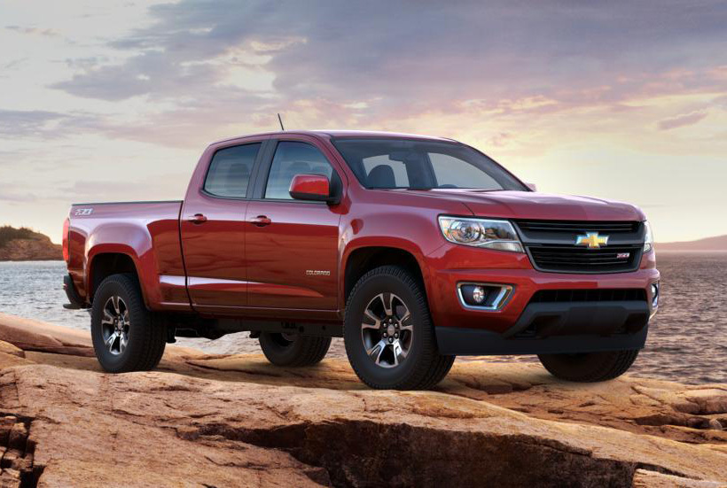 ​Внедорожник Chevrolet Colorado gm.com - Американская армия получит электрокары | Военно-исторический портал Warspot.ru