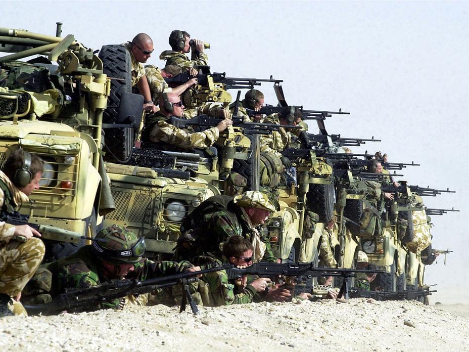Бог, как известно, на стороне больших батальонов - Современное наемничество: буква закона | Военно-исторический портал Warspot.ru