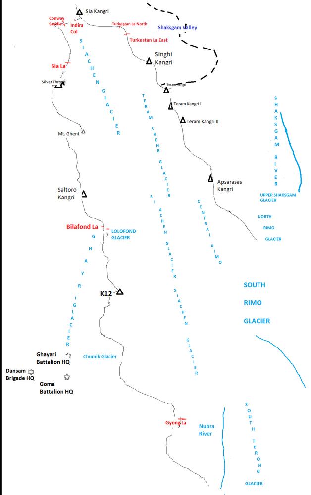 Сиачен: начало экстремальной войны
