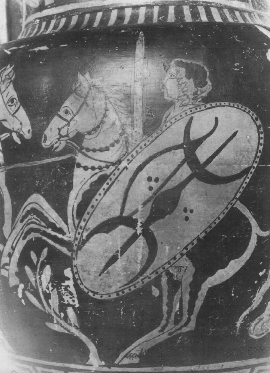 Галльский всадник на росписи греческой вазы из Апулии, IV век до н.э. - Кельты: первые столкновения с Римом | Warspot.ru