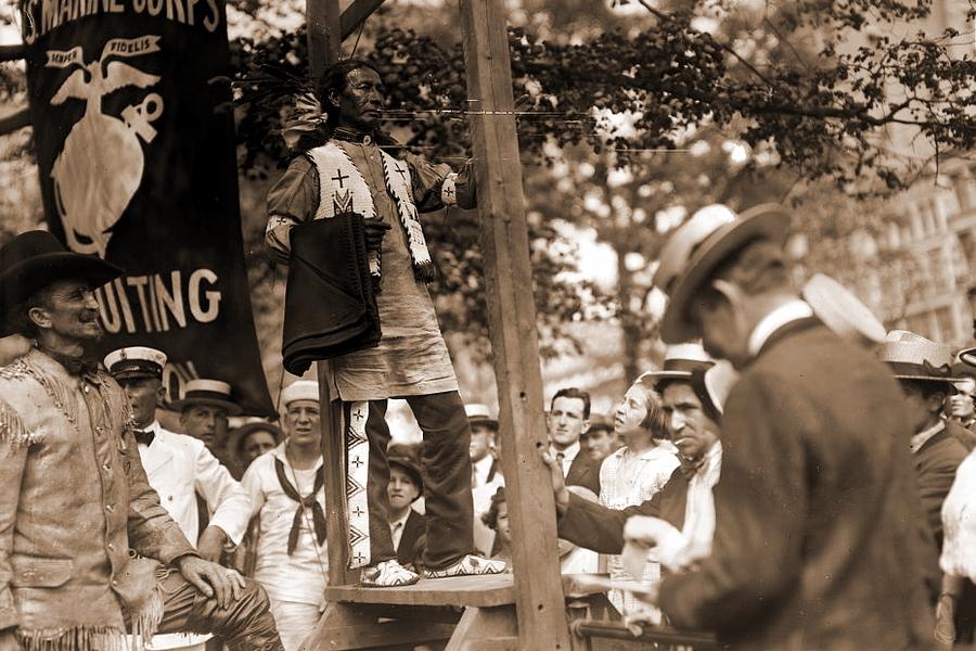 Краснокожие на тропе Великой войны ПМВ,Армия,Индейцы,США