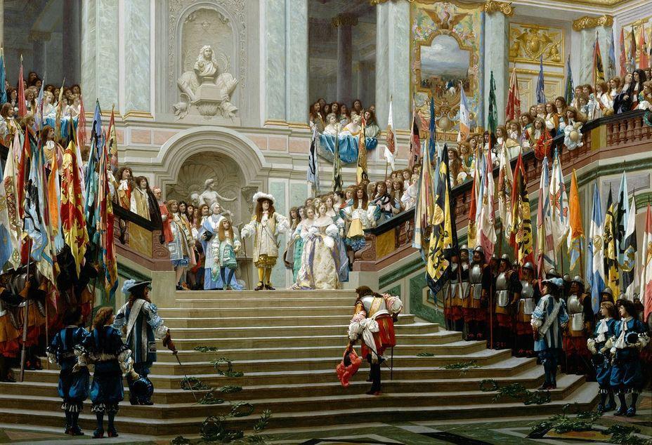 Приём в Версале