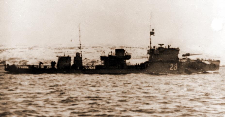 Советский сторожевой корабль СКР-28 «Рубин»