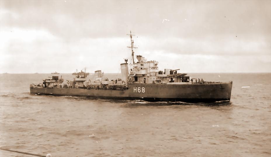 Британский эсминец «Форсайт» — «убийца поневоле». Именно его торпеда отправила на дно «Эдинбург», положение которого было сочтено безнадежным