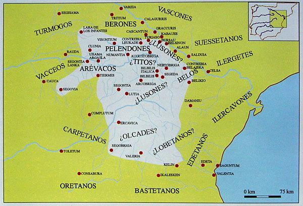 Центральная Испания и её народы в IV–I веках до н. э. - Кельты в Испании | Warspot.ru