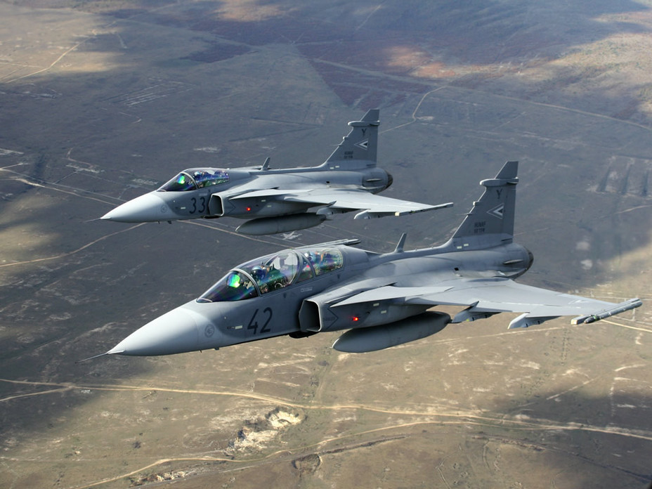 ​Истребители JAS-39 Gripen defenseindustrydaily.com - Почём истребители? | Военно-исторический портал Warspot.ru