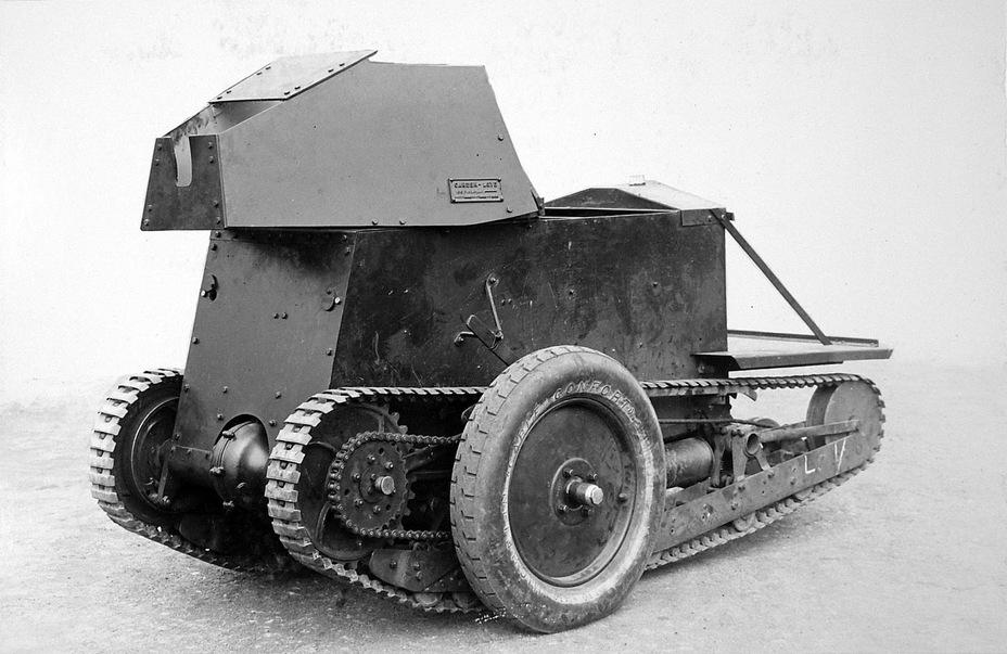 Колесный вариант Carden-Loyd Mk.I
