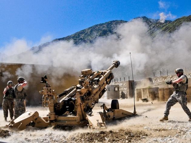 Американская гаубица ведёт огонь army.mil - Американская артиллерия «выжжет» электронику противника | Военно-исторический портал Warspot.ru