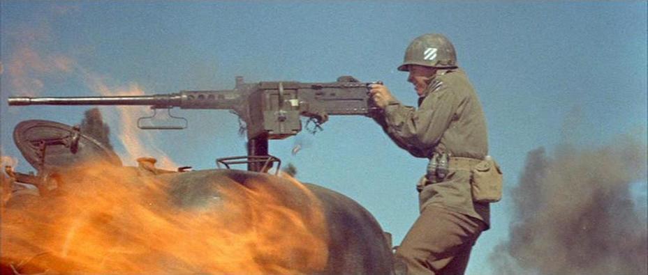 В кино Мёрфи стрелял при ясной погоде — и с танка «Шерман», а не с самоходки. http://www.imfdb.org/ - Оди Мёрфи: маленький герой большой войны | Военно-исторический портал Warspot.ru