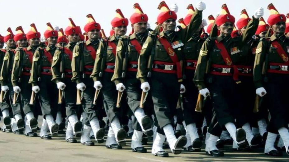 Джатский полк на параде, 2015 год
