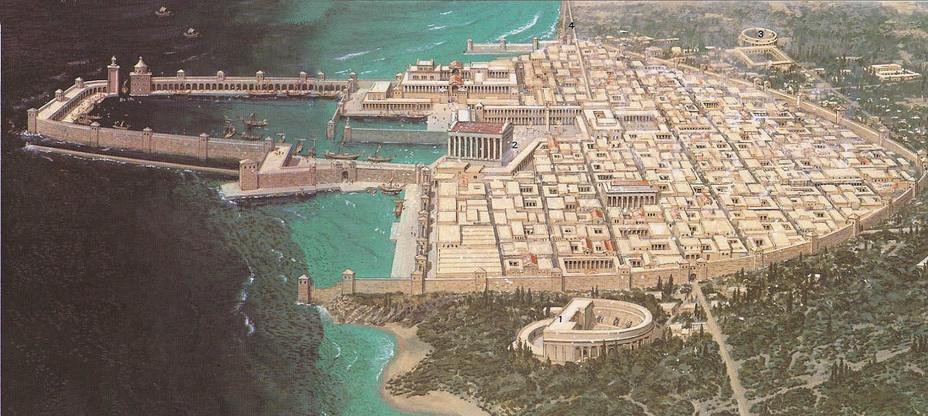 Кесария Приморская, резиденция римского наместника Иудеи