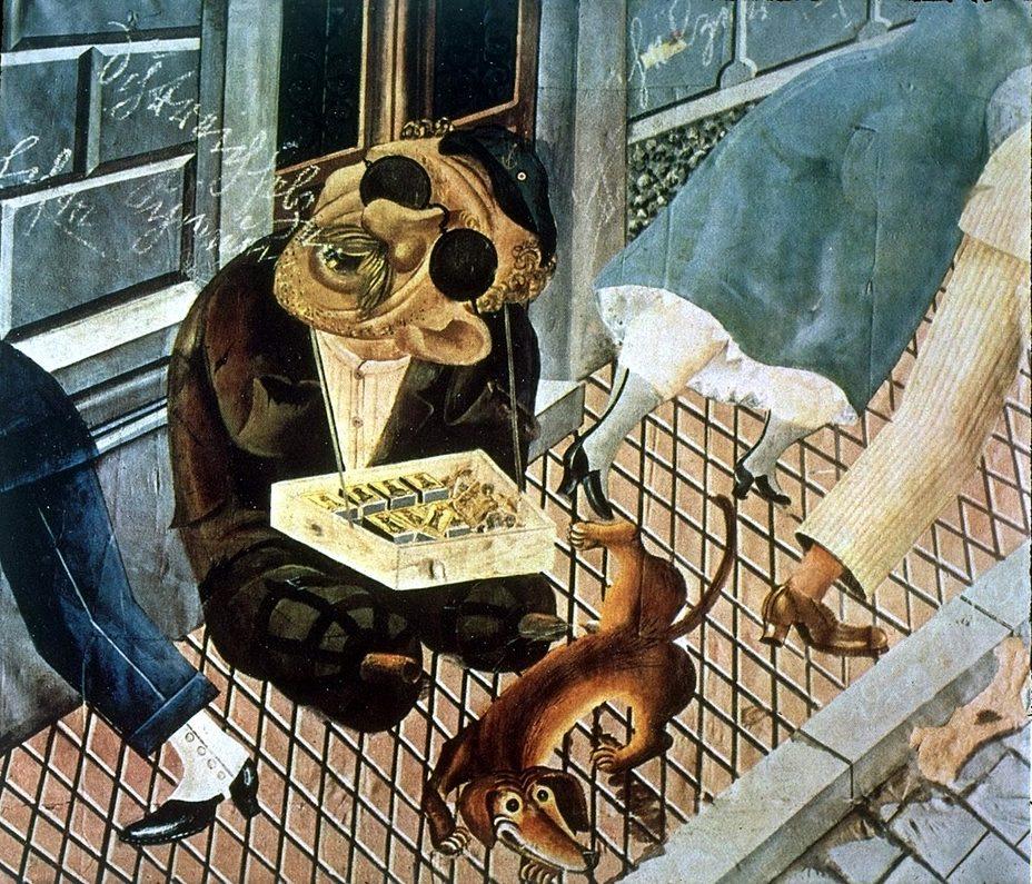 «Продавец спичек», 1921 год. Источник: wikiart.org