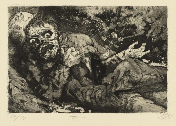 «Раненый. Осень 1916 года, Бапом»