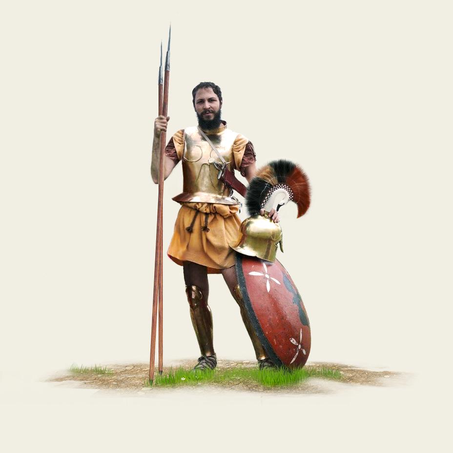 Древнегреческая армия тяжеловооруженный пехотинец
