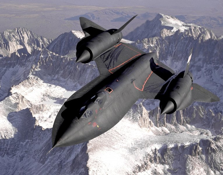 ​Самолет-разведчик SR-71 Blackbird aviationweek.com - Авиаразведка освоит гиперзвук | Военно-исторический портал Warspot.ru