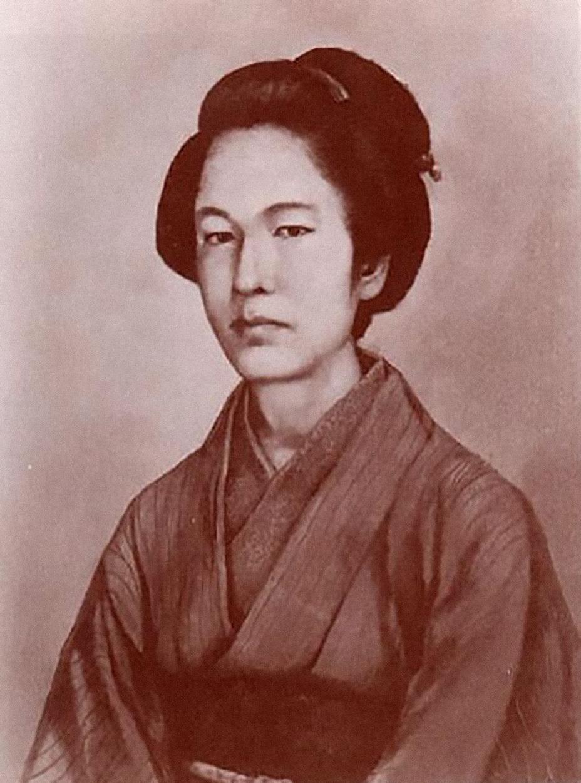Посмертный портрет Накано Такэки, написанный со слов современников. Автор неизвестен. digital.archives.go.jp
