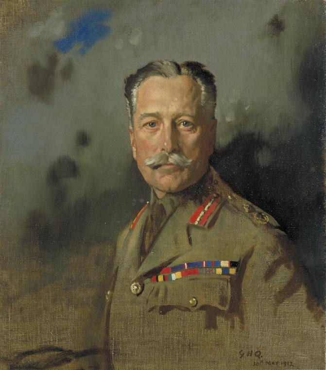 Портрет командующего Британскими экспедиционными силами во Франции фельдмаршала Дугласа Хейга