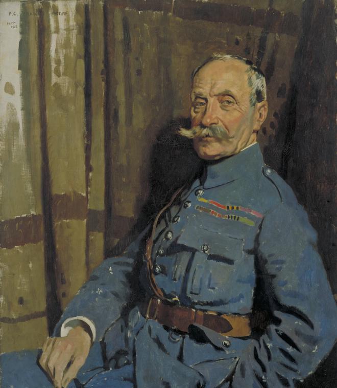 Портрет французского маршала Фердинанда Фоша