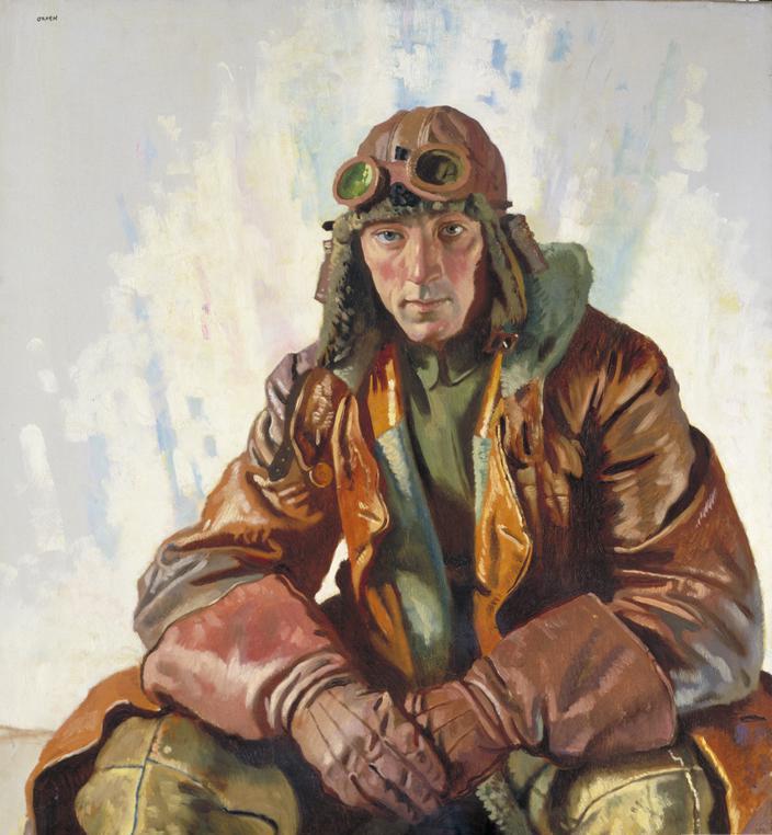 Портрет летчика флайт-сержанта Вильяма Беннетта